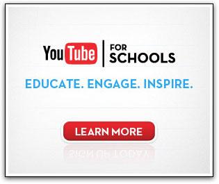 Youtube for schools - advert
