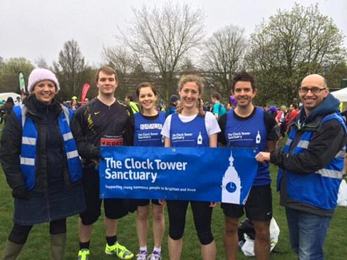 Clocktower Marathon team Pic