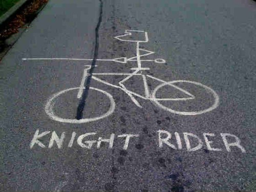 stick man of knight rider