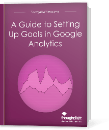 A Guide to Setting Up Goald i n Google Analytics - Cover