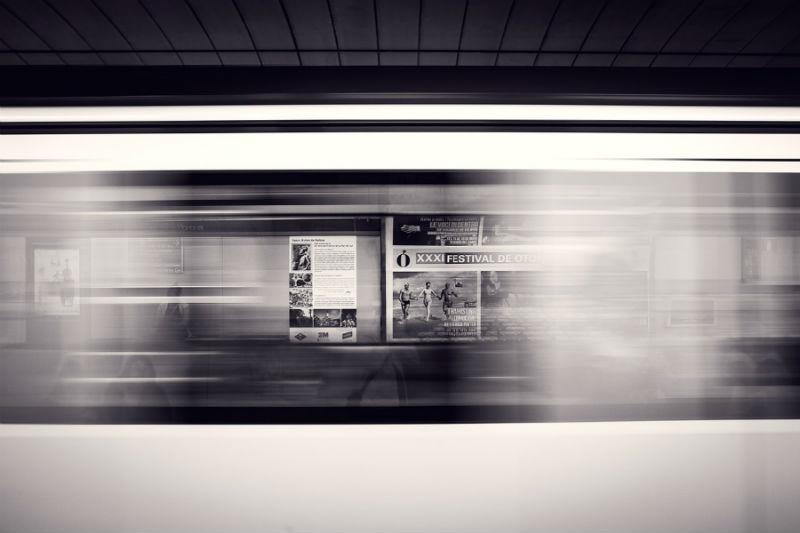 Departure platform advertising