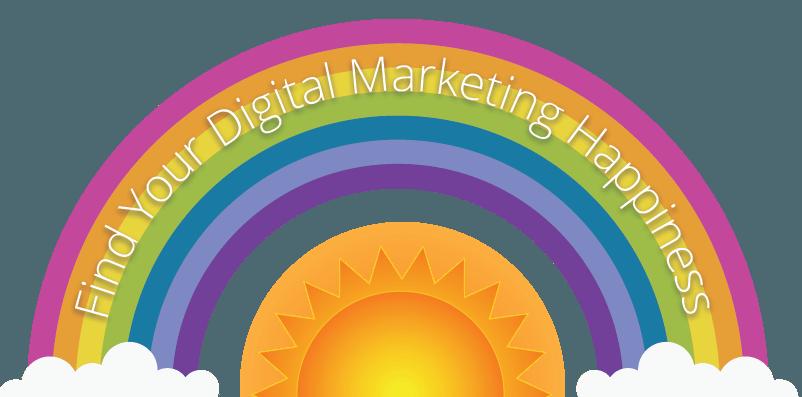 Digital Marketing Happiness Icon