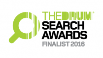 The DRUM Search Awards Finalist 2016