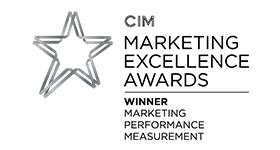 CIM winner 2015 logo