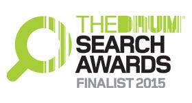 Drum search finalist 2015 logo