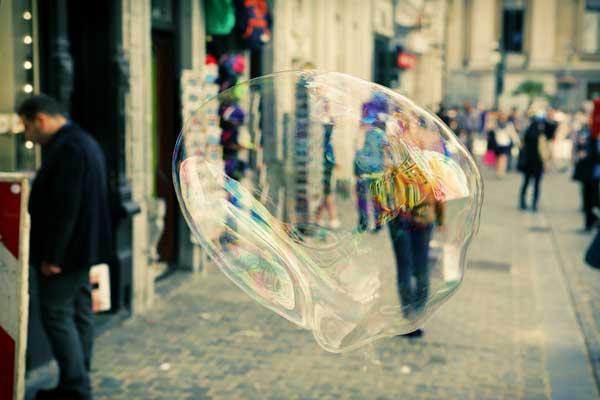 Will the bubble burst