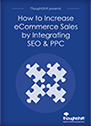 How to increase eCommerce sales by integrating SEO & PPC cover