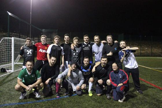 Inter-Agency Football Match