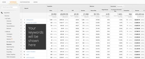 2 - Paid search revenue keywords