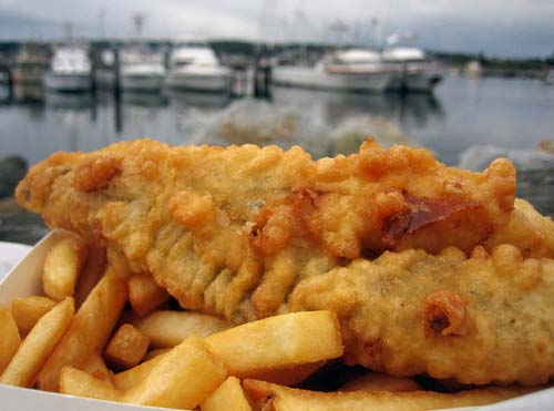 Supporting photo - fish & chips