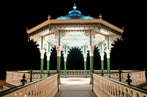 Suppoerting photo - the Bandstand