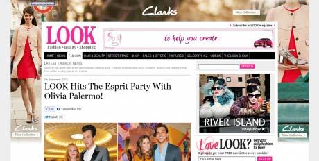 Look website screen grab