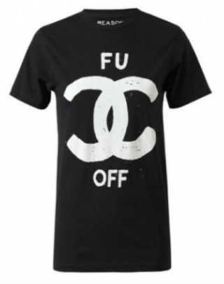 Screen Shot of Chanel Spoof T-Shirt
