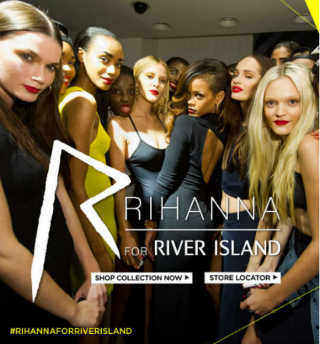 Screenshot - Rihanna for River Island (riverisland.com)