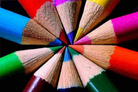picture of coloured pencils Source: Flickr