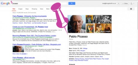picasso example of Google Search - tara post