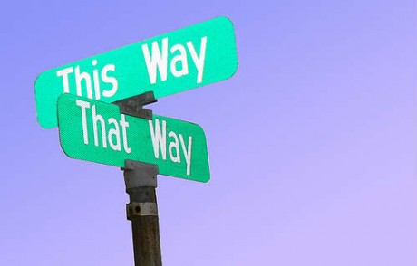 This way that way - confused?