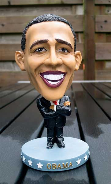 Picture of Obama toy
