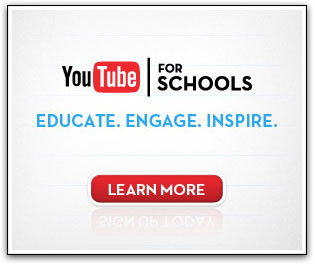 Youtube for schools - advert