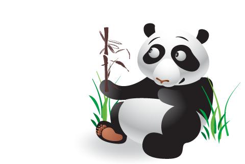 Panda Graphic