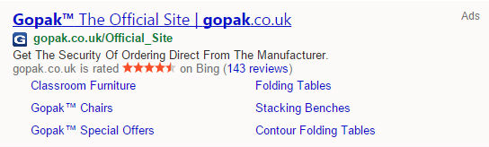 Historical Gopak Bing Ad