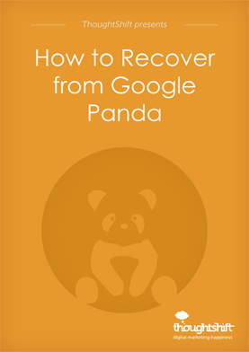How to recover from Google panda - cover