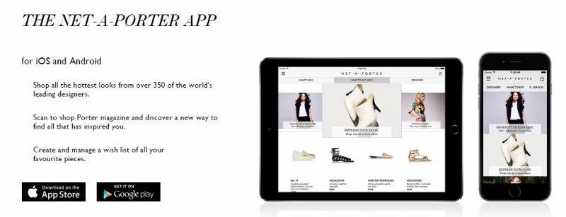 NET-A-PORTER App