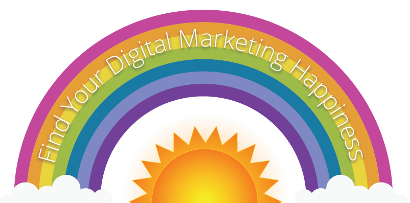 Digital Marketing Happiness Icon