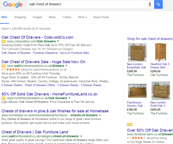 Search results screenshot