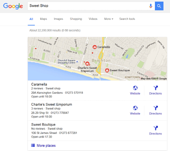 how to make a google page for my business