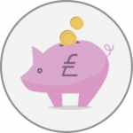 Piggy bank - supporting graphic
