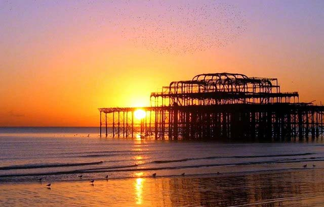 Supporting photo - the West Pier