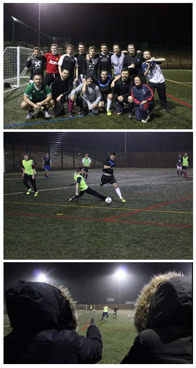Football Charity Shield - supporting photos