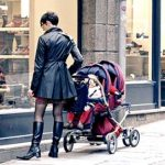 Supporting image - mother with pushchair