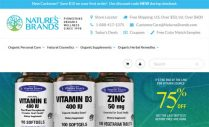 Nature's brands screen shot