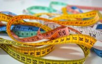 Coloured tape measures