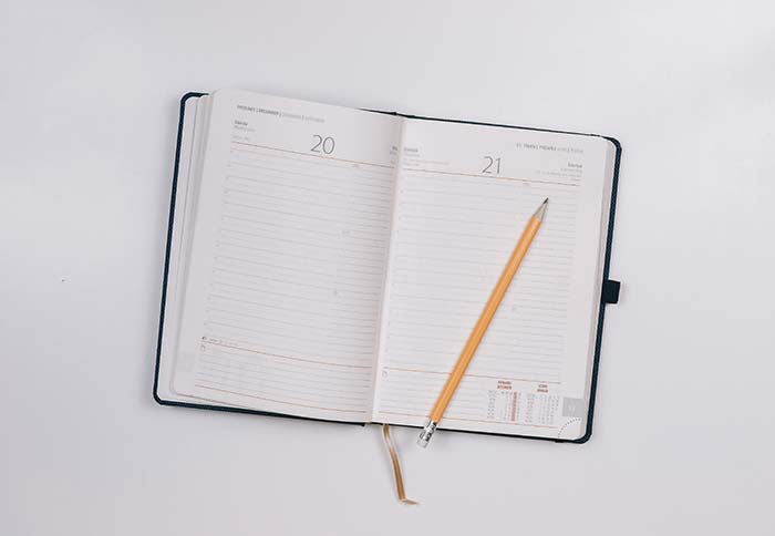 Supporting image - a pen on a pad