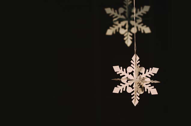 Christmas - paper snowflakes