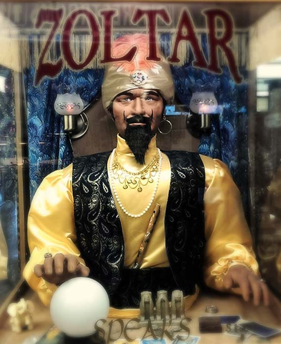 Zoltar predicts the future