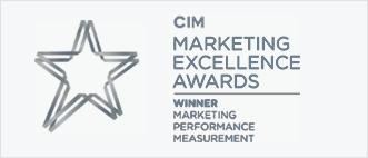 CIM Winner marketing performance measurement