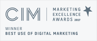 CIM Winner best use of digital marketing 2017