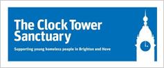 Clock tower logo