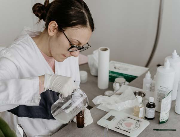 Skin scientist