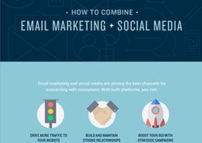 A Detailed Infographic on How You Can Combine Email Marketing and Social Media