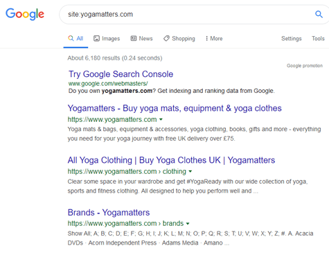 Yoga Matters - screen shot