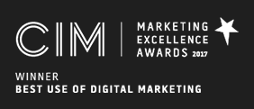CIM winner 2017 Best use of digital marketing