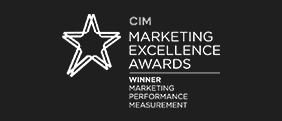 CIM winner for marketing performance measurment