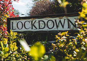 Lockdown signpost