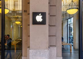 Apple shopfront